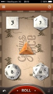 Capture iPad Genius Dice iPhone 1