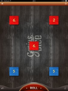 Capture iPad Genius Dice iPad 1