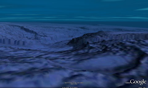 Google Earth Ocean