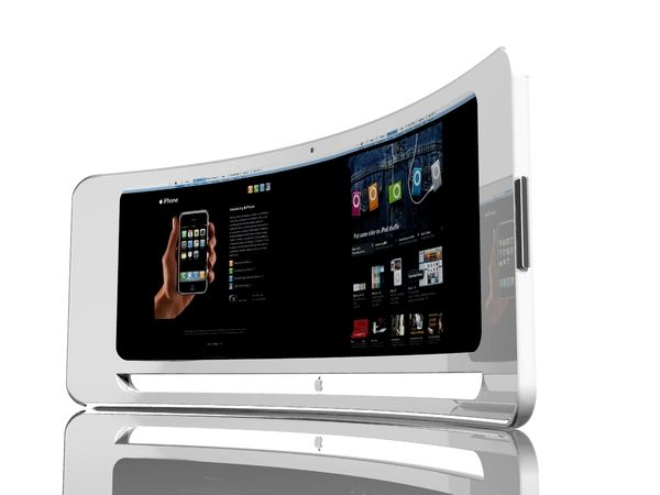 iview un concept d ordinateur imac inspired techmag. Black Bedroom Furniture Sets. Home Design Ideas
